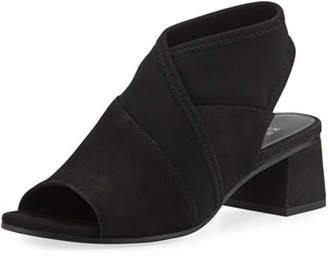 Eileen Fisher Luca Easy Block-Heel Sandals