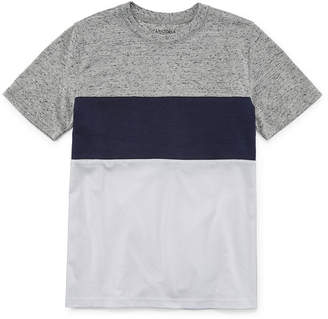 Arizona Short Sleeve Colorblock T-Shirt Boys 4-20