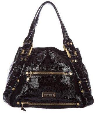Jimmy ChooJimmy Choo Patent Leather Shoulder Bag