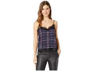 Cupcakes And Cashmere Dale Plaid Top