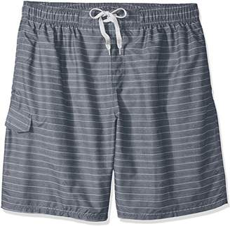 Kanu Surf Men's Big Line up Extended Size Quick Dry Beach Shorts Swim Trunk