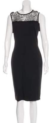 RED Valentino Sleeveless Knee-Length dress
