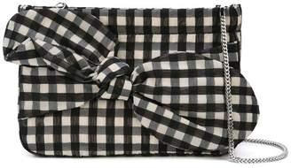 Loeffler Randall Cecily bow clutch