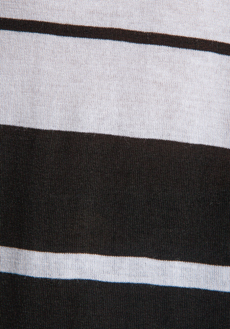 Blue Life Open Arm Tank in Black/White Stripe