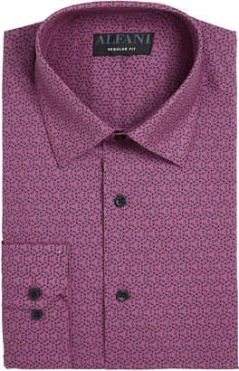 Alfani Assorted AlfaTech by Men Classic/Regular Fit Performance Print Dress Shirts