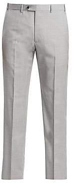 Emporio Armani Men's Wool-Blend Suiting Pants