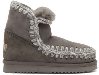 Mou Grey Eskimo 18 Boots AMbwL5tc