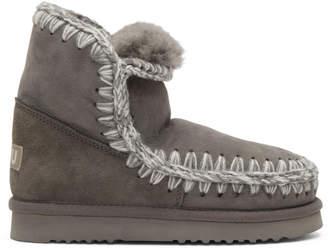 Mou Grey Eskimo 18 Boots SBREfq7Xx