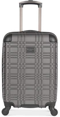 "Ben Sherman Nottingham 20"" Lightweight Hardside Carry-On Spinner Suitcase"