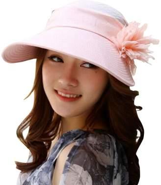 a0e37d0ed2d SHINA Fashion Summer Hats women Ladies Casual Cotton Brimmed Hats Dual Use Hat  Beach Sun Hat