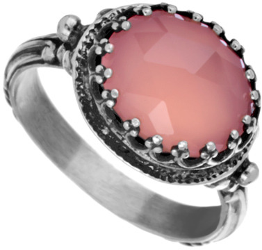 Becky Kelso Pink Calcite Ring