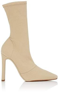 Yeezy Women's Stretch-Canvas Ankle Boots - Beige, Tan