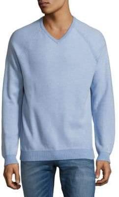 Tommy Bahama Raglan-Sleeve Cotton Sweater