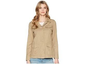 Chaps Cotton Twill Utility Jacket Women's Coat