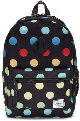 Herschel The Brand 'Heritage' polka dot print canvas 16L kids backpack