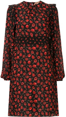 No.21 candy apple print dress