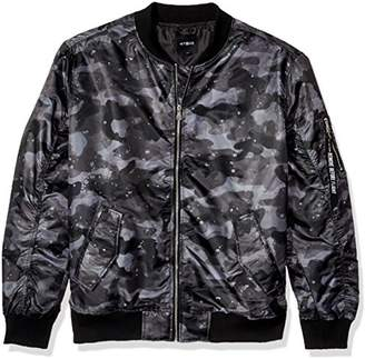 WT02 Men's Lightweight Ma-1 Bomber Jacket in Solid and Camo