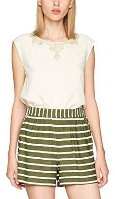 Vila CLOTHES Women's Vipal Top T-Shirt,(Manufacturer Size: Large)