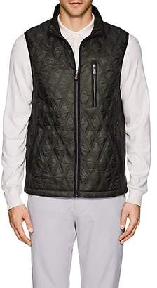 Rainforest MEN'S HEATED DIAMOND-QUILTED VEST - GREEN SIZE L