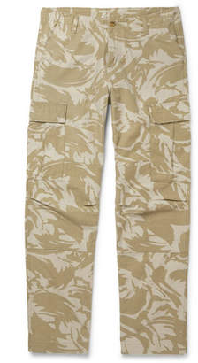 Carhartt WIP - Camouflage-print Cotton-canvas Cargo Trousers - Beige