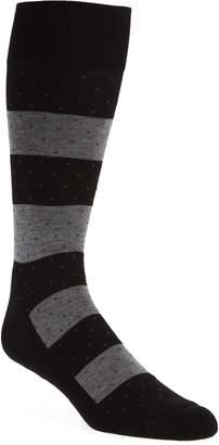 Nordstrom Block Stripe Dot Socks