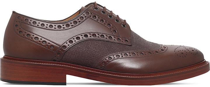 Paul SmithPaul Smith Xander leather brogues