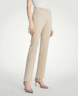 Ann Taylor The Petite Ankle Pant In Cotton Sateen
