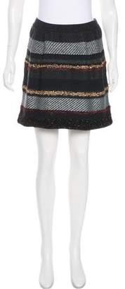 Tory Burch Wool Embellished Skirt
