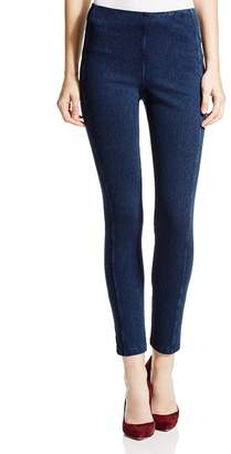 Lysse Stretch Denim Zip Leggings