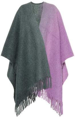 Acne Studios Kelow alpaca and wool-blend poncho