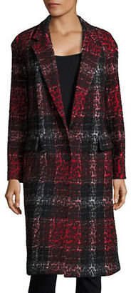Dkny One-Button Jacquard Coat $1,498 thestylecure.com