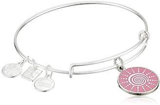 Alex and Ani Women's Charity by Design - Spiral Sun Expandable Charm Bangle Bracelet Bangle Bracelet