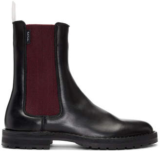 Paul Smith Black Garnett Chelsea Boots