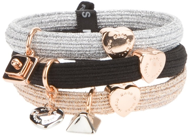 Marc by Marc Jacobs new plaque cluster pony bands