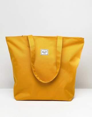 Herschel Mica Mustard Shopper Tote Bag