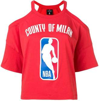 Marcelo Burlon County of Milan X NBA T-shirt
