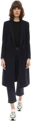 Tagliatore Zeudi Double Breasted Wool Blend Coat