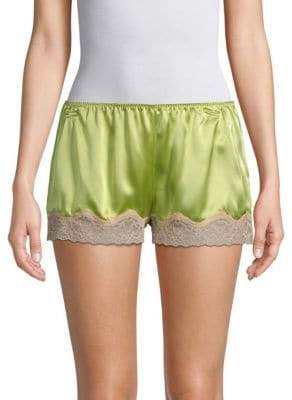Samantha Chang Classic Silk Tap Shorts