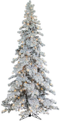 Sterling Tree Company 9Ft Heavily Flocked Layered Spruce