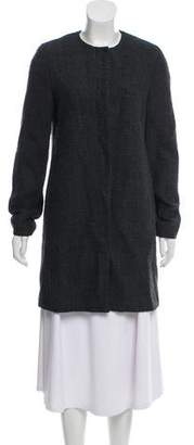 St. Emile Virgin Wool-Blend Knee-Length Coat