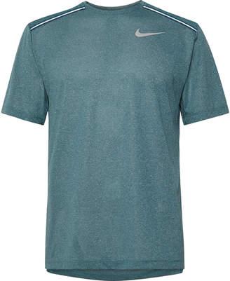 Melange Home Nike Running - Miler Dri-FIT T-Shirt - Men - Blue