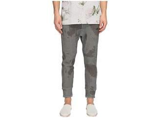 Vivienne Westwood Ticking Print Sweatpants Men's Casual Pants