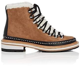 Rag & Bone Women's Compass Suede & Shearling Ankle Boots