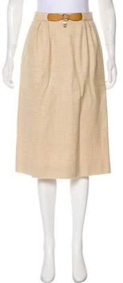 Hermes Vintage Woven Skirt