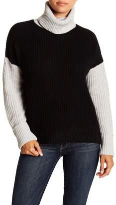 360 Cashmere Dree Chunky Knit Turtleneck Sweater