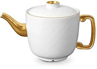 L'OBJET Han 24k Gold-Trimmed Porcelain Teapot