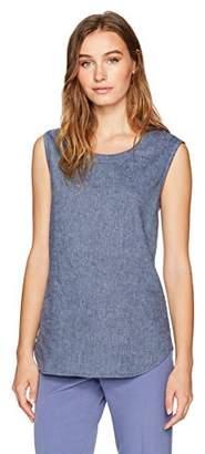 Anne Klein Women's Sleevless U-Neck Shell