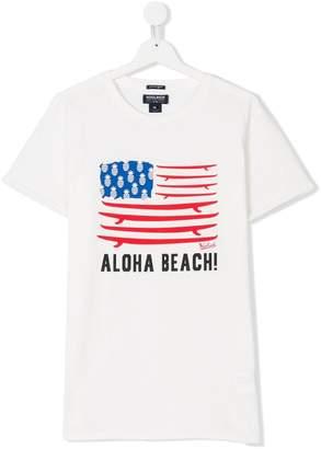 Woolrich Kids TEEN aloha beach T-shirt