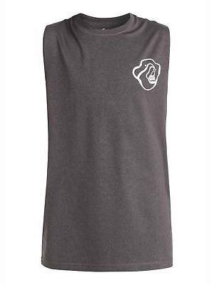 Quiksilver NEW QUIKSILVERTM Boys 8-16 Cut Off Tank Rash Vest 2016 Boys Teens Ski