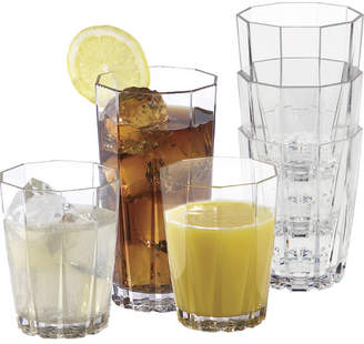 Andover Mills Larrabee 12 Piece Acrylic Assorted Glassware Set